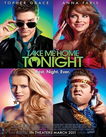 Take Me Home Tonight 2011 Hindi Dual Audio 300MB BluRay 480p ESubs