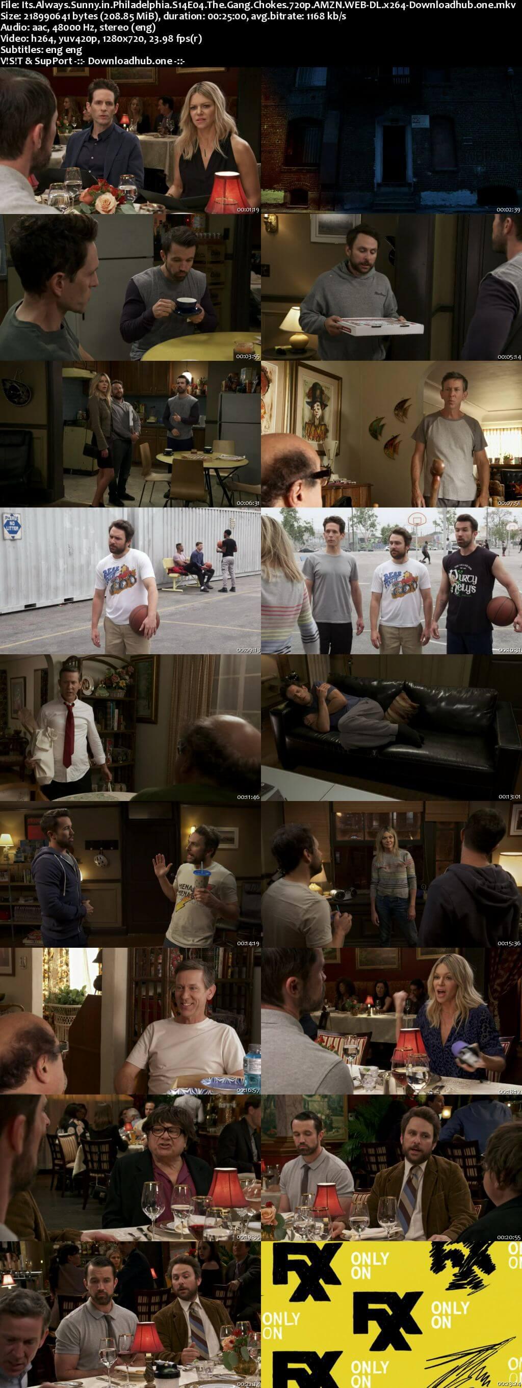 Its Always Sunny in Philadelphia S014E04 200MB AMZN WEB-DL 720p ESubs
