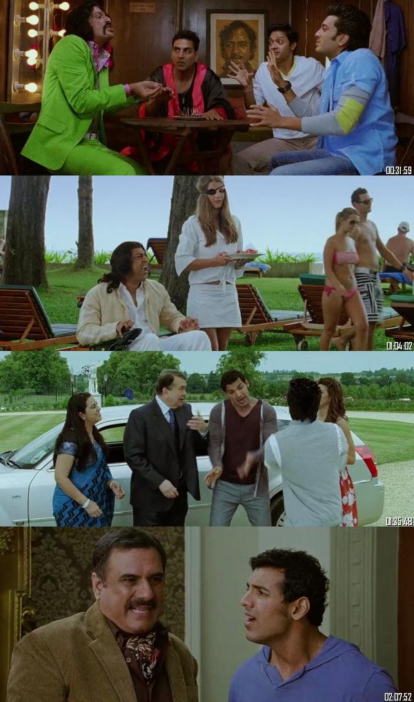 Housefull 2 (2012) Hindi 720p 480p BRRip x264 Full Movie