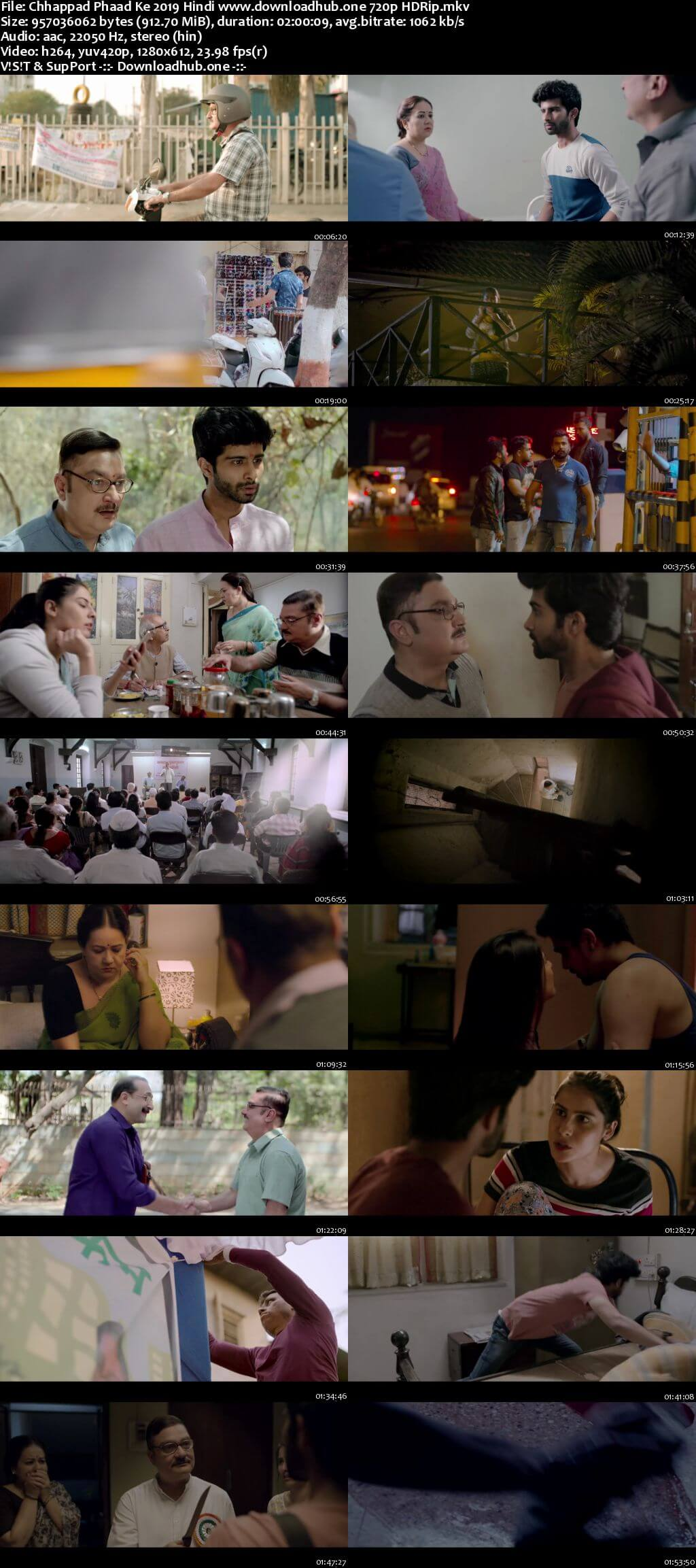 Chhappad Phaad Ke 2019 Hindi 720p HDRip x264
