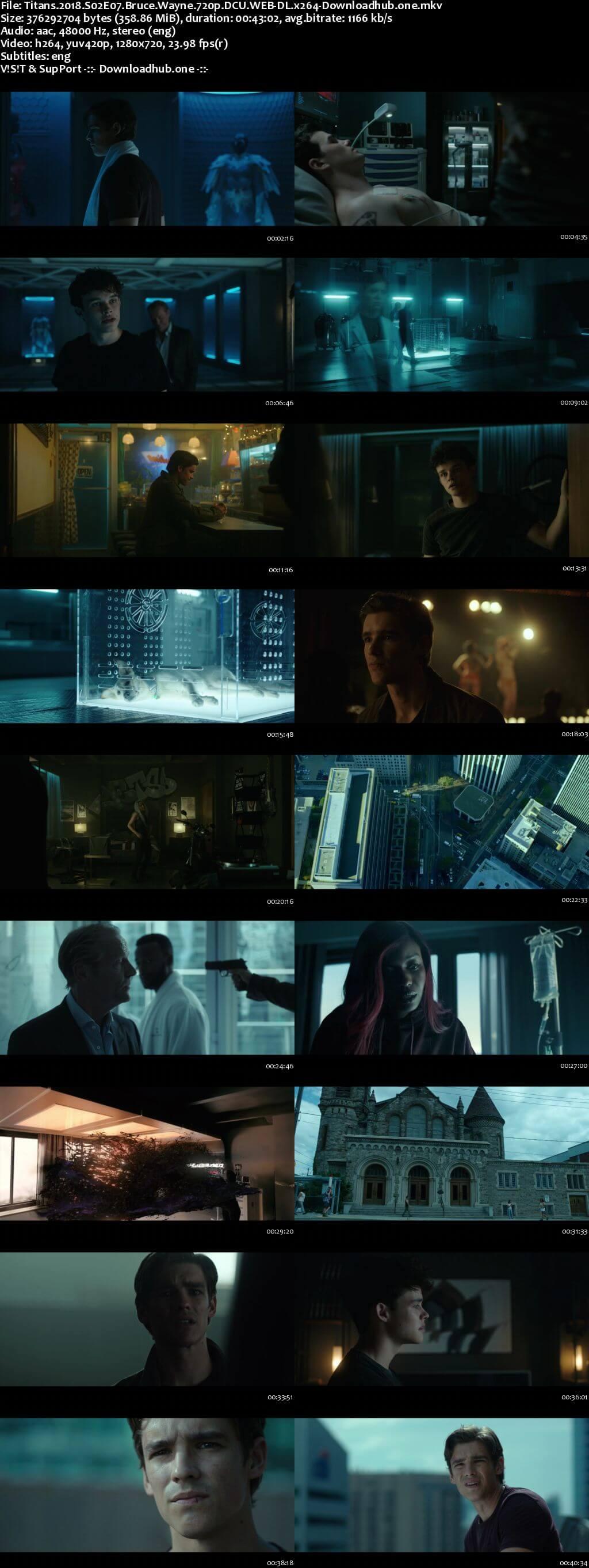 Titans S02E07 350MB WEB-DL 720p ESubs