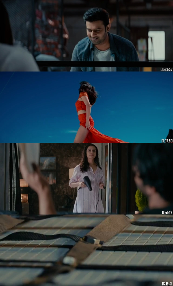 Saaho 2019 Hindi 720p 480p HDRip x264 Full Movie