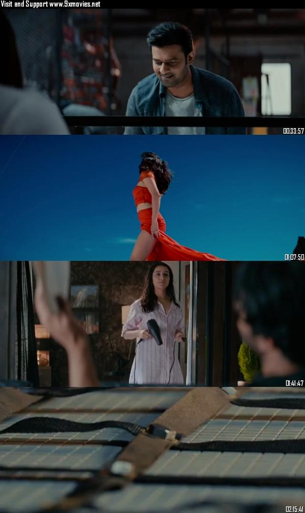 Saaho 2019 Hindi (CAM Audio) 720p HDRip 1.27GB