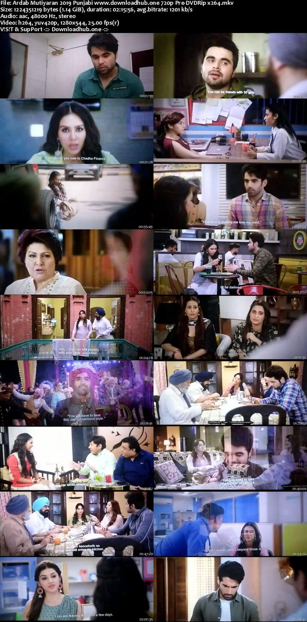 Ardab Mutiyaran 2019 Punjabi 720p 480p Pre-DVDRip x264