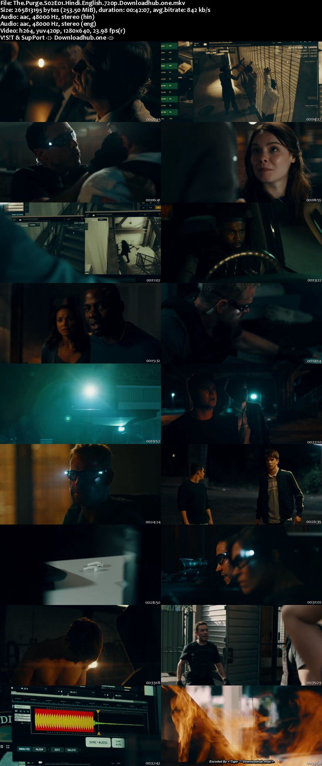 The Purge S02 Complete Hindi Dual Audio 720p Web-DL MSubs