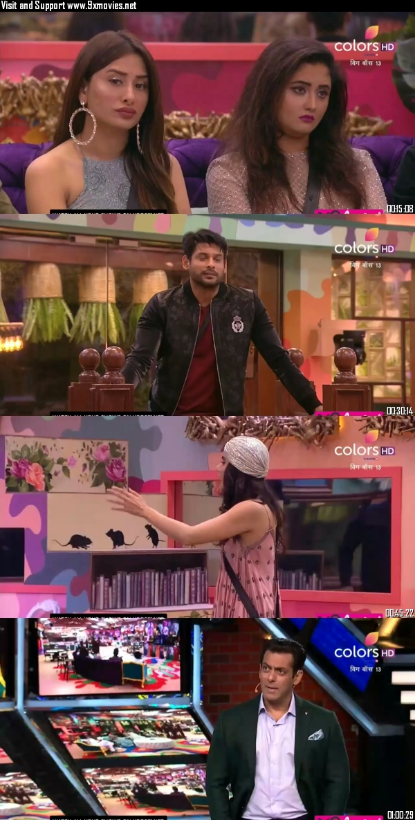 Bigg Boss 19 October 2019 HDTV 720p 480p 550MB