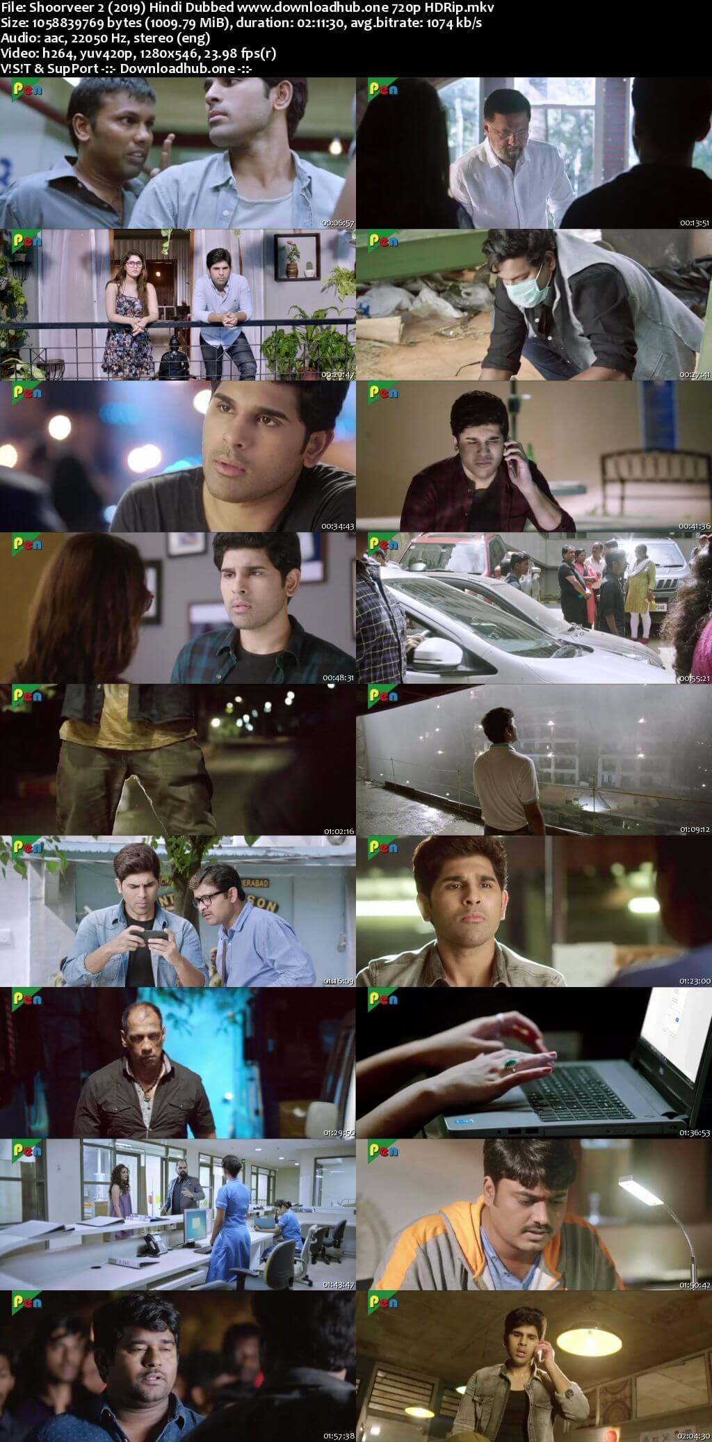 Shoorveer 2 2019 Hindi Dubbed 720p HDRip x264