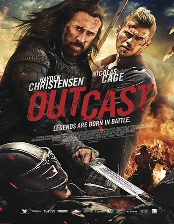 Outcast 2014 Hindi Dual Audio BRRip Full Movie 720p Download