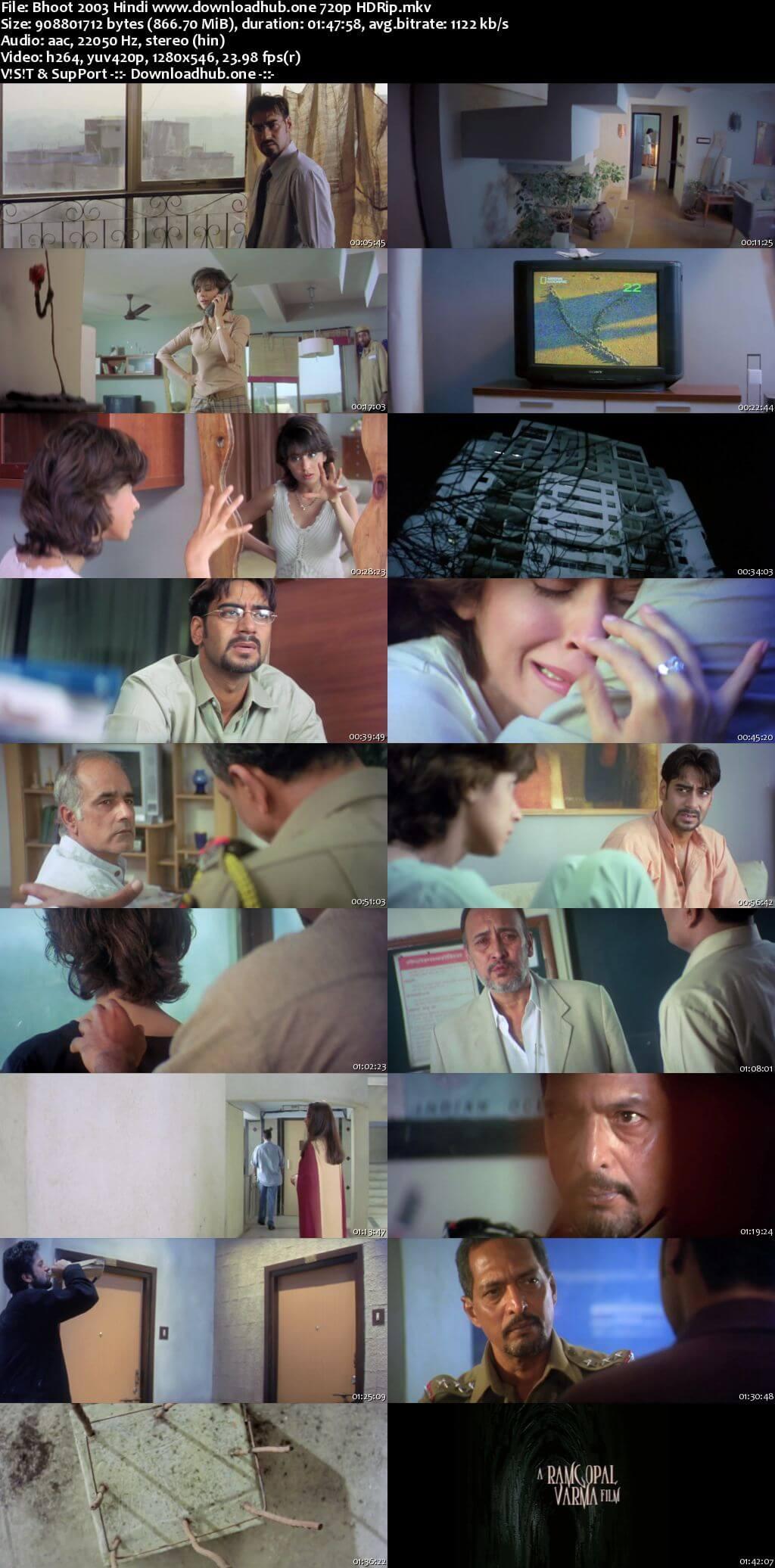 Bhoot 2003 Hindi 720p HDRip x264