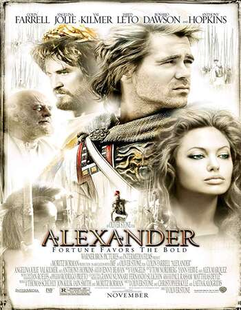 Alexander 2004 Hindi Dual Audio BRRip Full Movie 480p Download