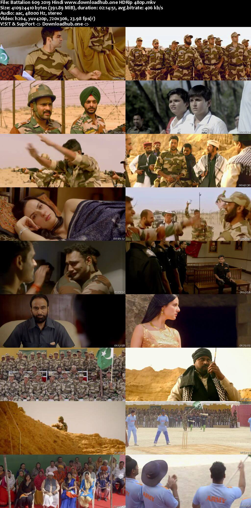 Battalion 609 2019 Hindi 400MB HDRip 480p