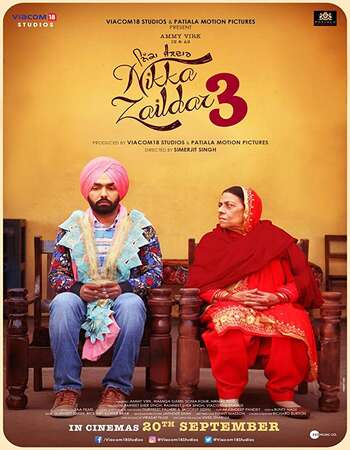 Nikka Zaildar 3 2019 Full Punjabi Movie 720p HEVC Download