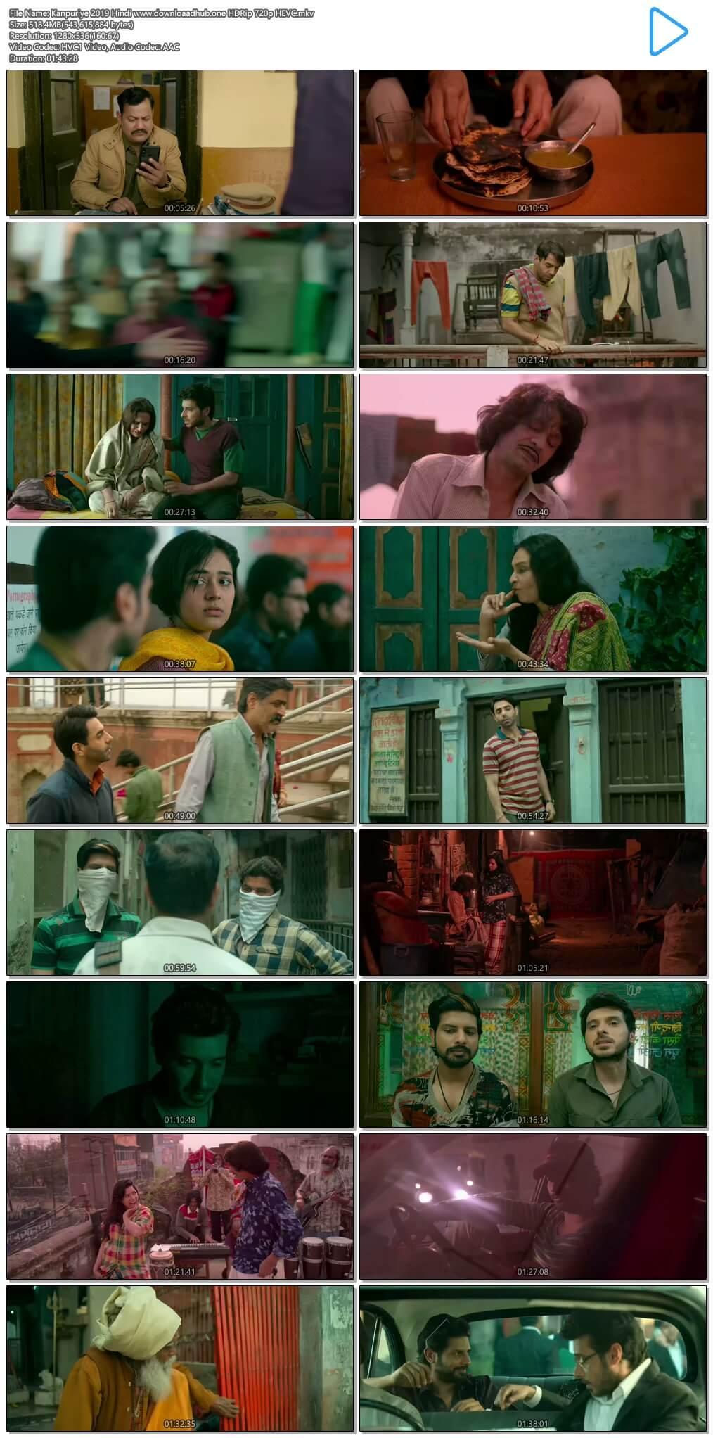 Kanpuriye 2019 Hindi 500MB HDRip 720p HEVC
