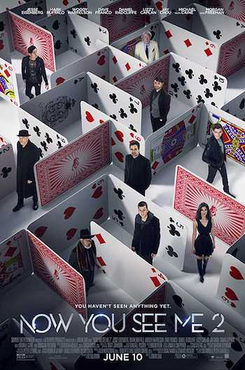 Now You See Me 2 (2016) Dual Audio Hindi Bluray Movie Download