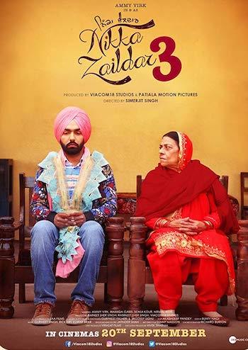 Nikka Zaildar 3 2019 Punjabi Full Movie Download