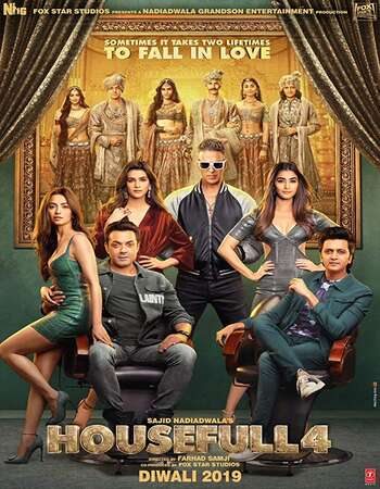 Housefull 4 2019 Full Hindi Movie 720p HEVC HDRip Download