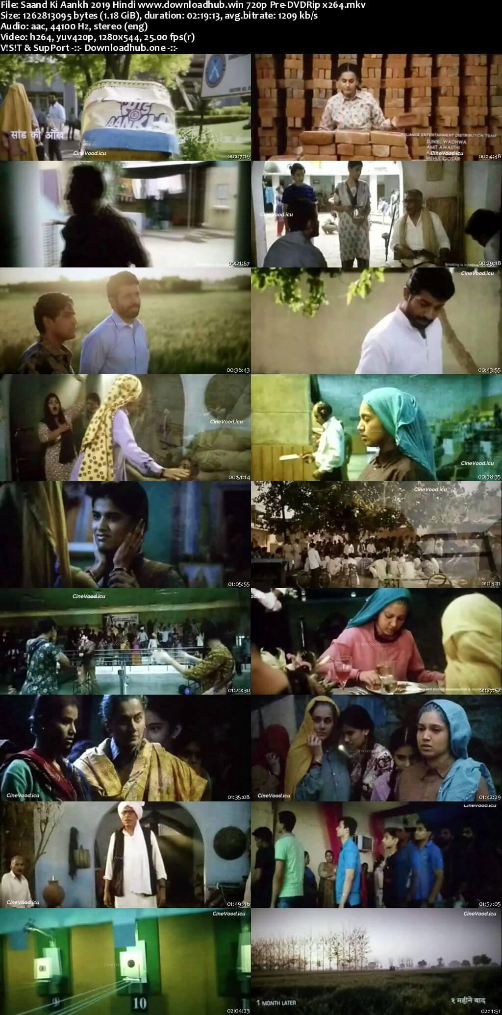 Saand Ki Aankh 2019 Hindi 720p 480p Pre-DVDRip x264