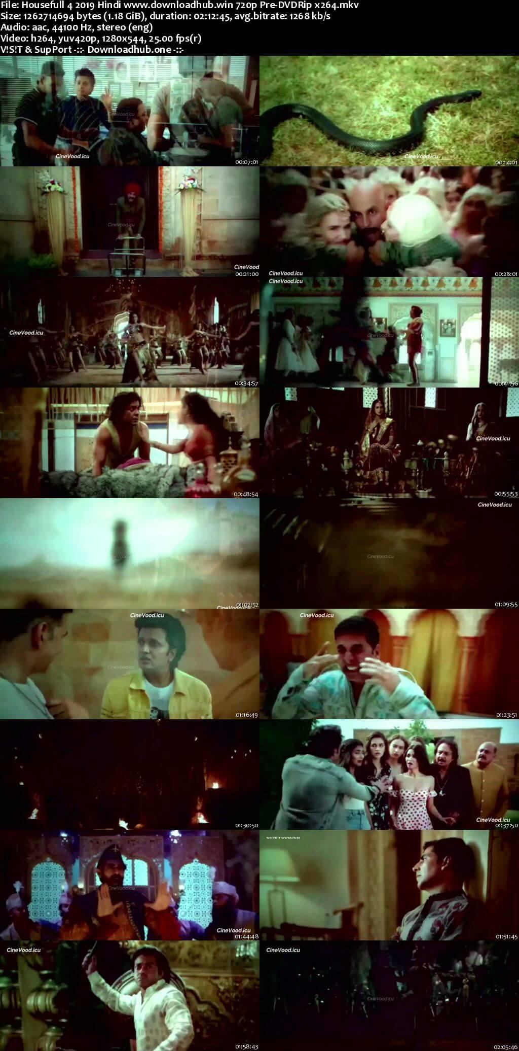 Housefull 4 2019 Hindi 720p 480p Pre-DVDRip x264
