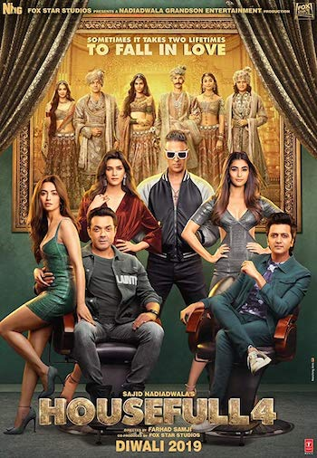 Housefull 4 (2019) Hindi 720p 480p pDVDRip