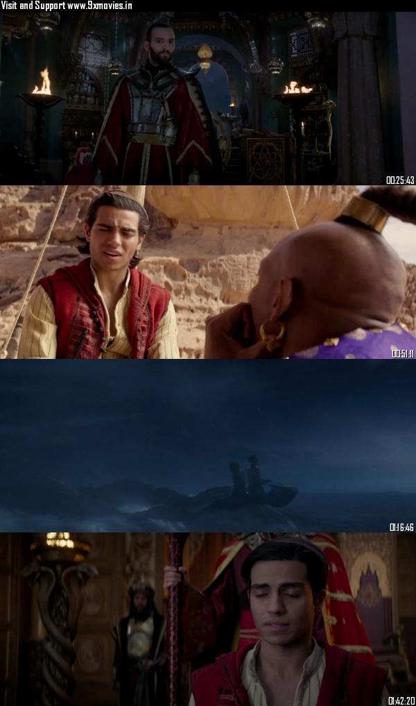 Aladdin 2019 Dual Audio ORG Hindi 720p BluRay 1.1GB