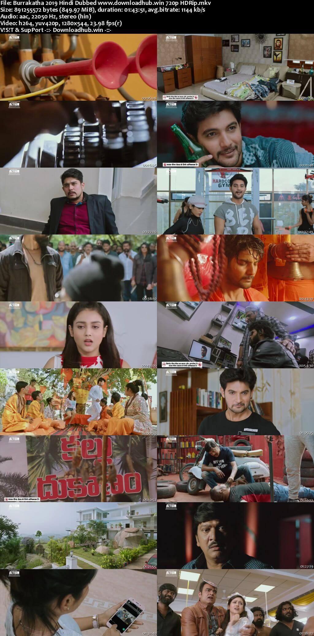 Burrakatha 2019 Hindi Dubbed 720p HDRip x264