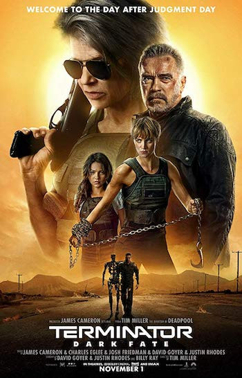 Terminator Dark Fate 2019 Dual Audio Hindi 720p HDRip 1.1GB