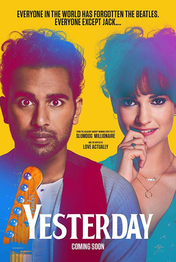 Yesterday 2019 English 720p BRRip 900MB ESubs
