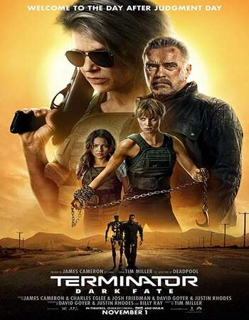 Terminator Dark Fate 2019 Hindi Dual Audio BRRip Full Movie 720p HEVC Download