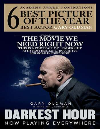 Darkest Hour 2017 Hindi Dual Audio BRRip Full Movie 480p Download