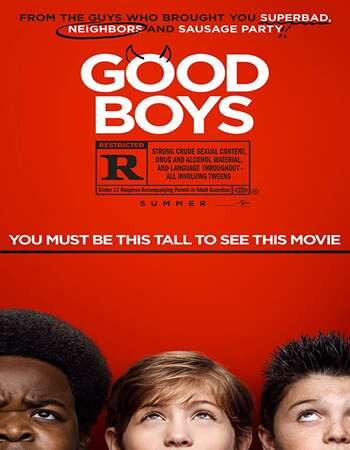 Good Boys 2019 English 720p Web-DL 700MB ESubs