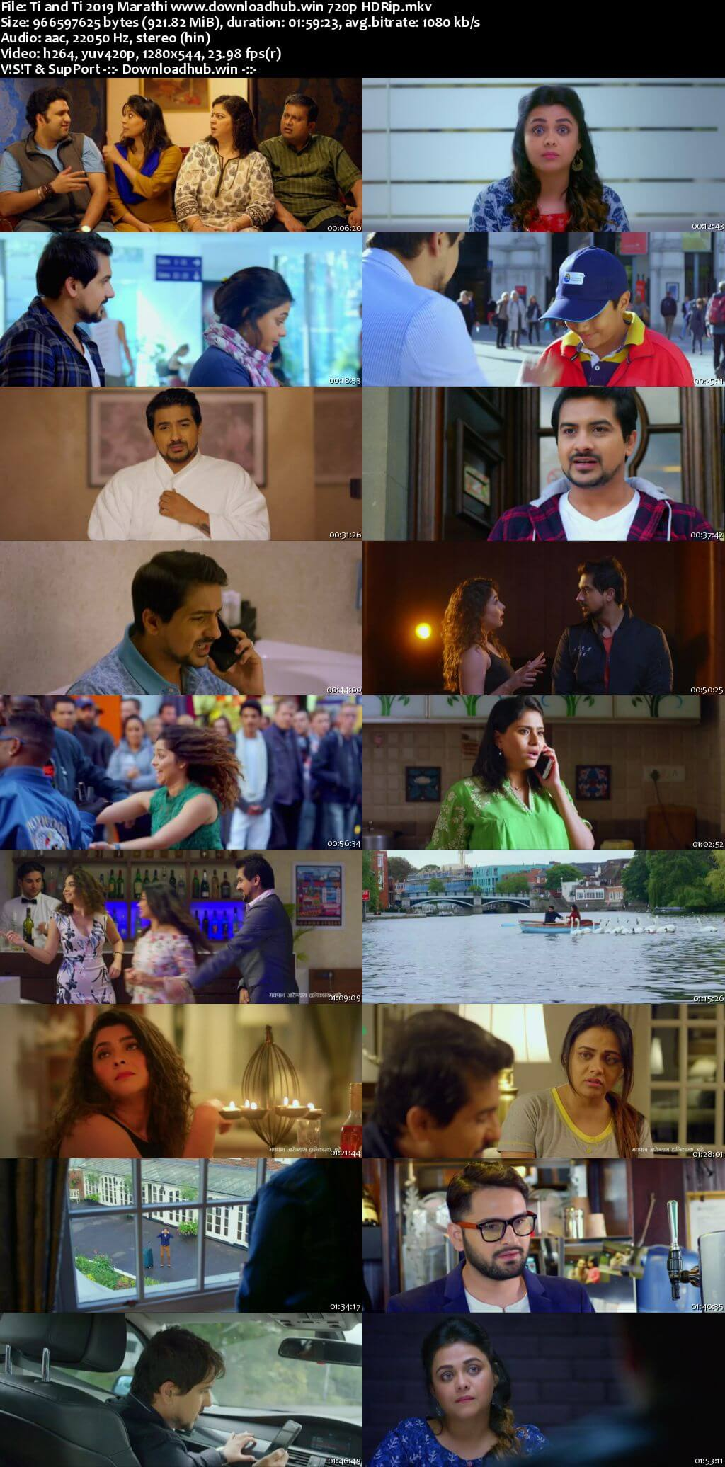 Ti and Ti 2019 Marathi 720p HDRip x264