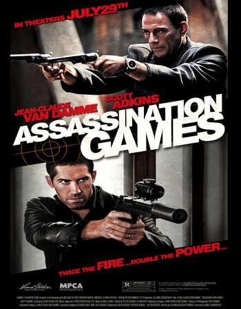 Assassination Games 2011 Hindi Dual Audio BRRip Full Movie 480p Download
