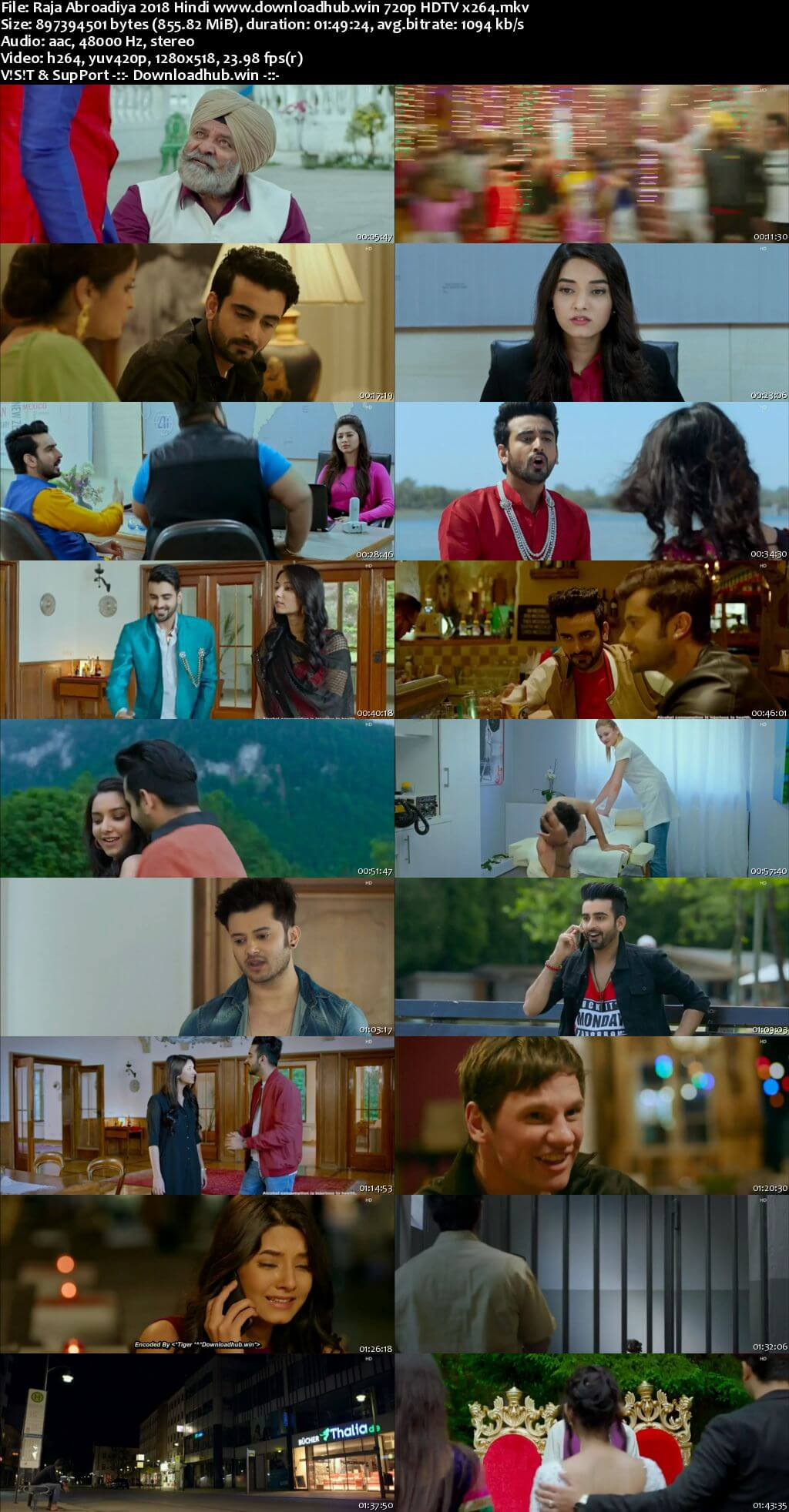 Raja Abroadiya 2018 Hindi 720p HDTV x264