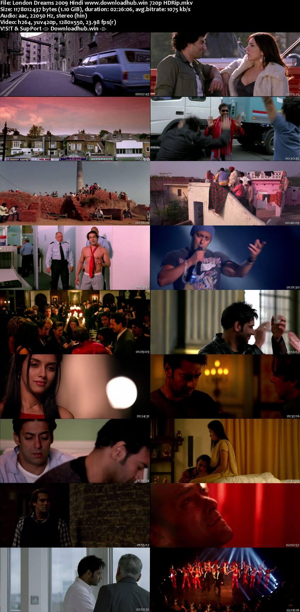 London Dreams 2009 Hindi 720p HDRip x264
