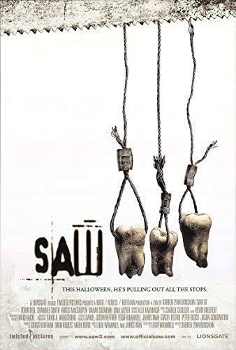 Saw III 2006 Dual Audio Hindi English BRRip 720p 480p Movie Download