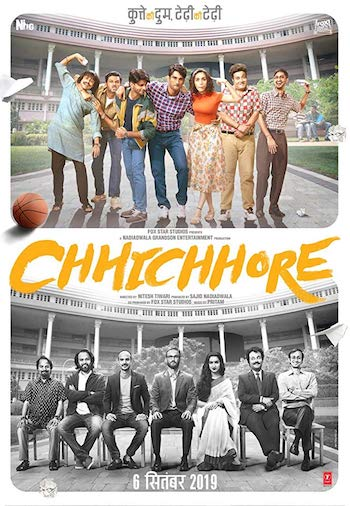 Chhichhore 2019 Hindi 720p WEB-DL 1.1GB