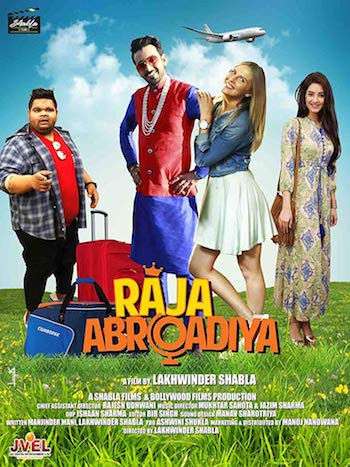 Raja Abroadiya 2018 Hindi 480p WEB-DL 300mb