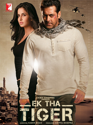 Ek Tha Tiger 2012 Hindi 720p BRRip 1GB
