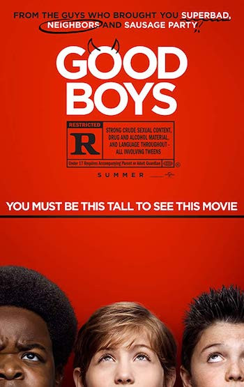 Good Boys 2019 English 720p WEB-DL 750MB ESubs