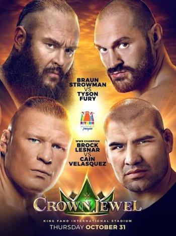 WWE Crown Jewel 2019 PPV WEBRip 720p 480p x264 850MB