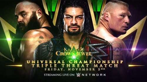 WWE Crown Jewel 31st October 2019 Full Show 720p 480p Free Download