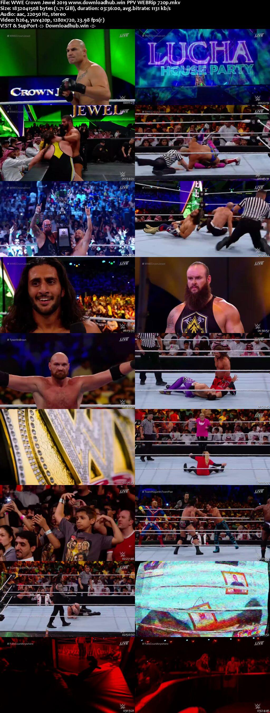 WWE Crown Jewel 31st October 2019 720p 800MB PPV WEBRip 480p