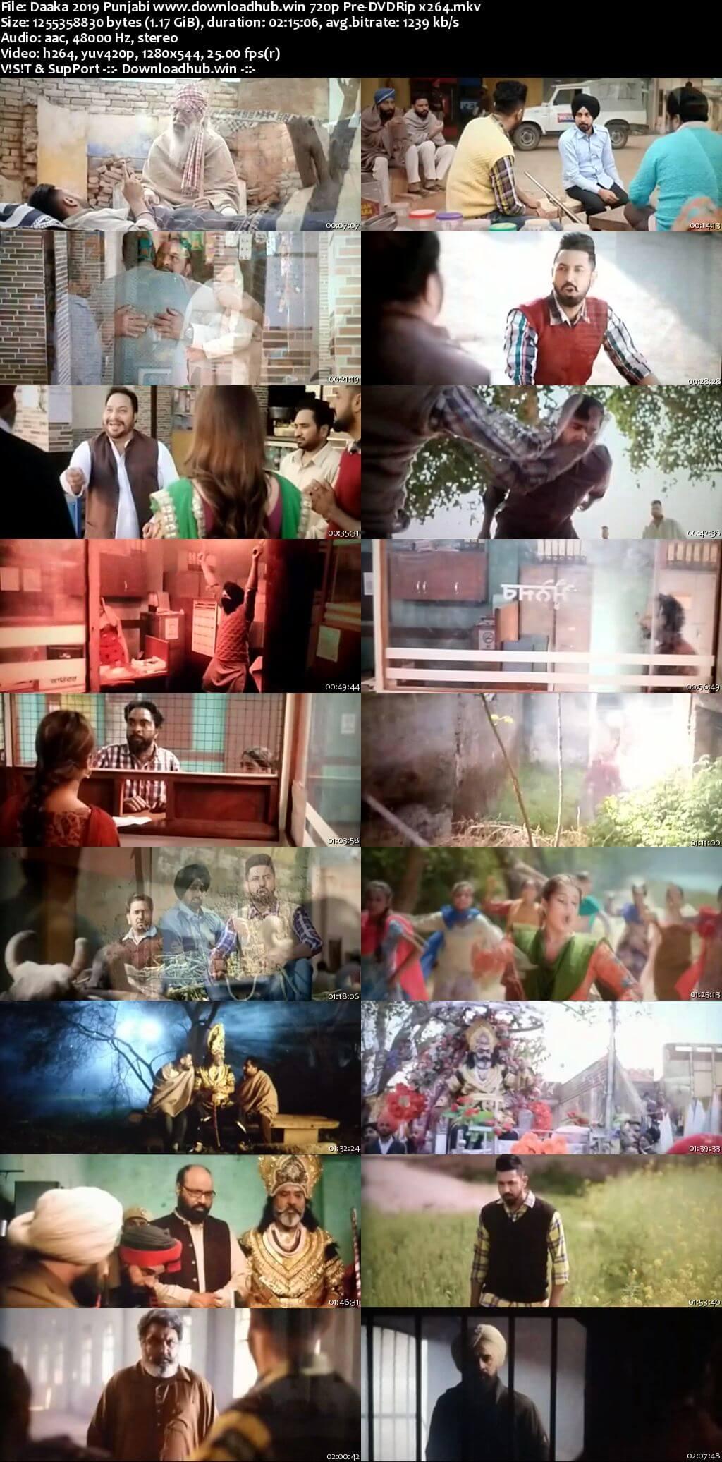 Daaka 2019 Punjabi 720p 480p Pre-DVDRip x264