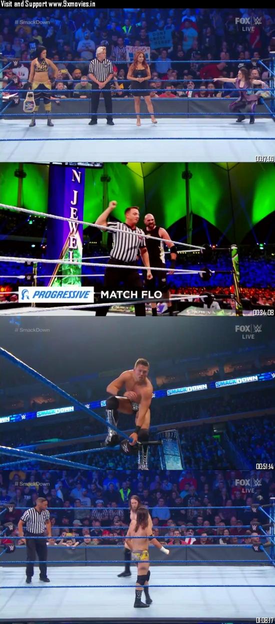 WWE Friday Night Smackdown 01 Nov 2019 HDTV 720p 480p 300MB