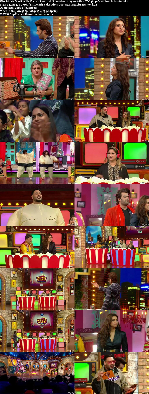 Movie Masti With Manish Paul 02 November 2019 Episode 09 HDTV 480p