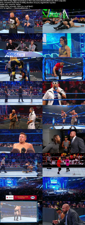 WWE Friday Night Smackdown 1st November 2019 720p 300MB HDTV 480p