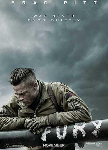 Fury 2014 Dual Audio Hindi English BRRip 720p 480p Movie Download