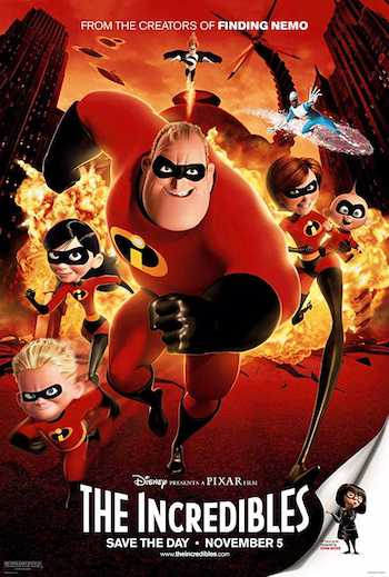 The Incredibles 2004 Dual Audio Hindi English BRRip 720p 480p Movie Download