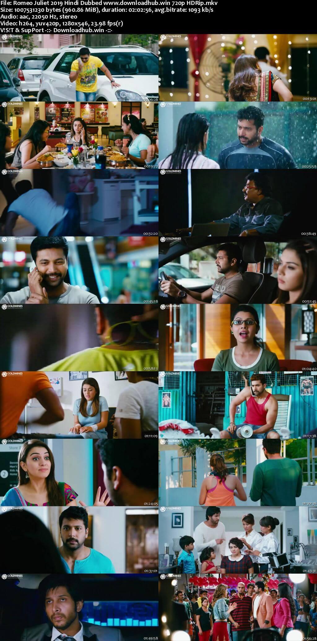 Romeo Juliet 2019 Hindi Dubbed 720p HDRip x264