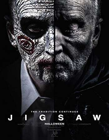 Jigsaw 2017 Hindi Dual Audio 450MB BluRay 720p ESubs HEVC
